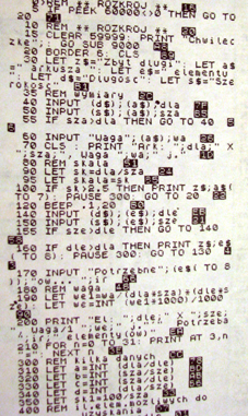 Nesting na ZX Spectrum 1