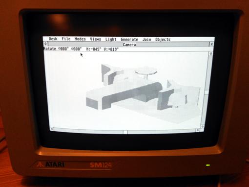 Atari ST CAD-3D fot 2