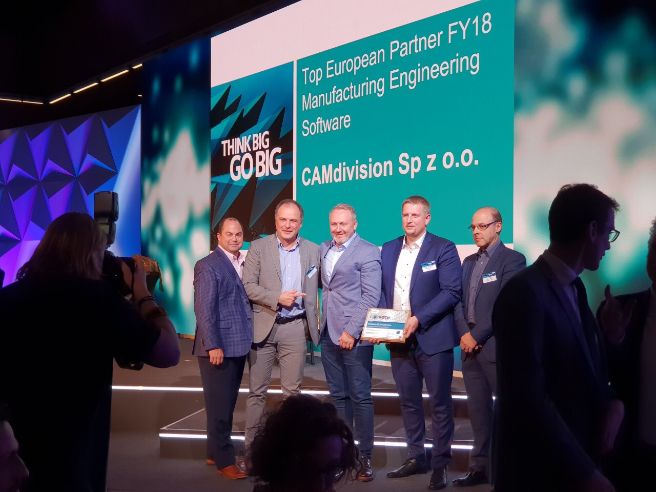 """Top European Partner for Manufacturing Engineering Software FY18"""